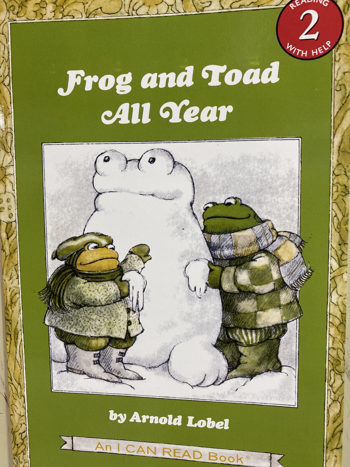 LOBEL, Frog And Toad All Year, Reading 2 Help