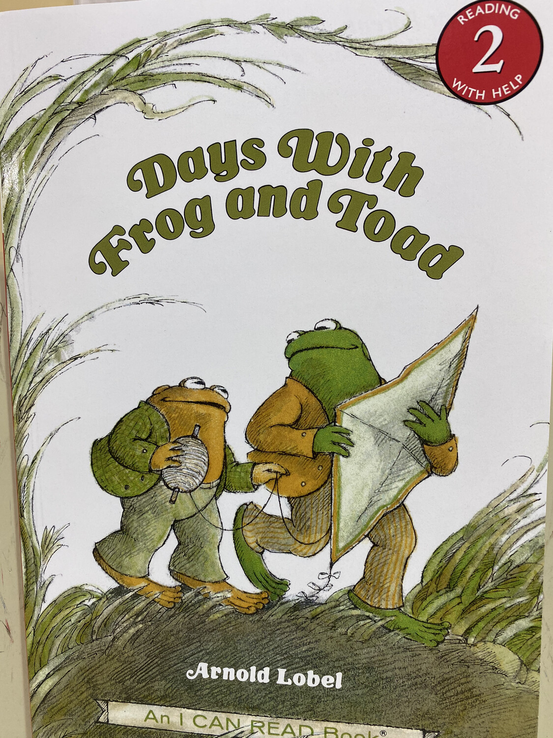LOBEL, Days With Frog And Toad, Reading 2 Help