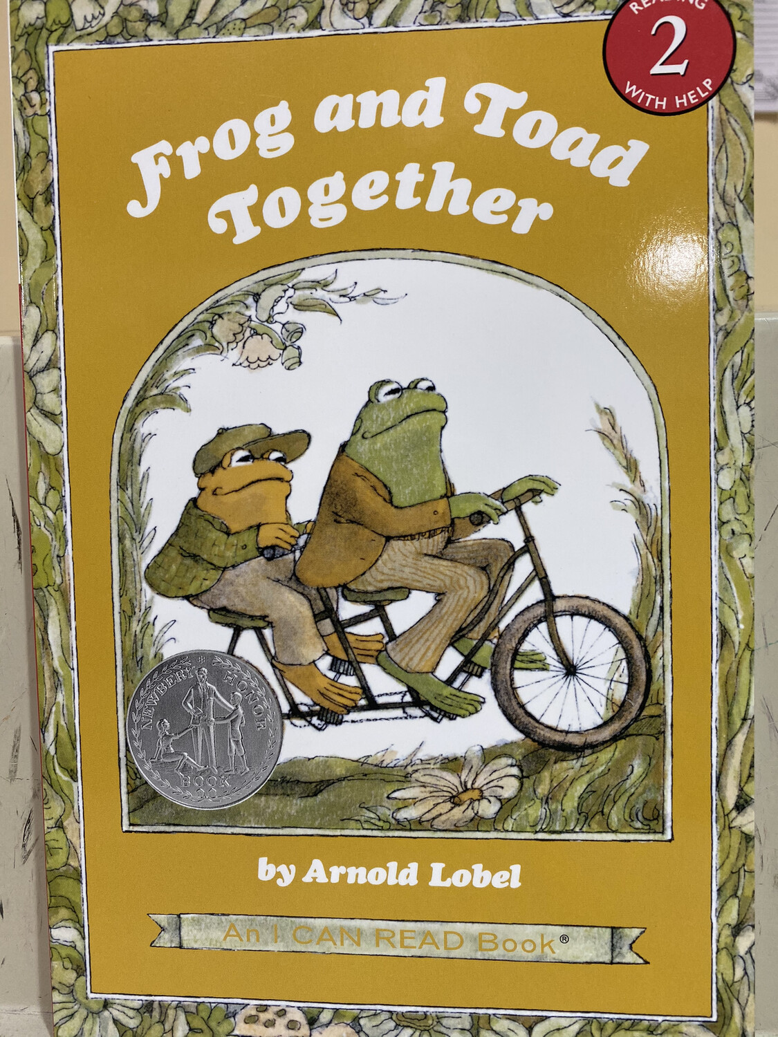 LOBEL, Frog And Toad Together, Reading 2 Help