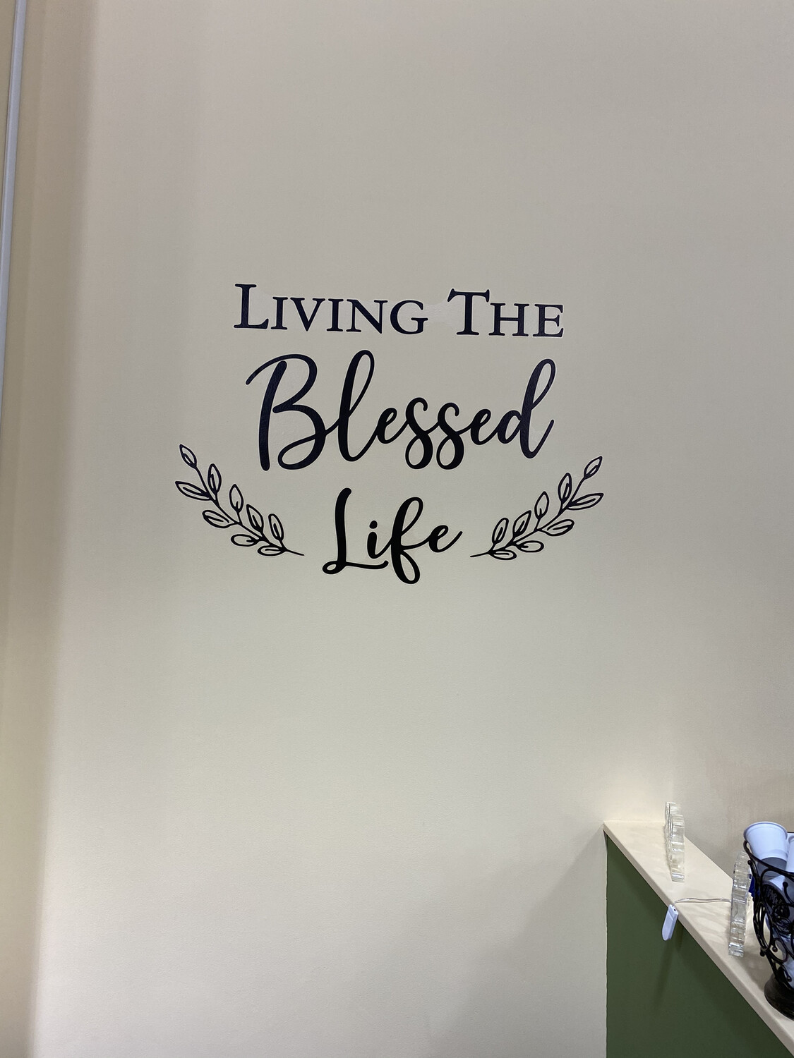 Wall Decal, Blessed Life