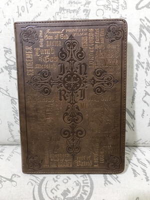 Journal - Names Of Jesus Leather Flexcover
