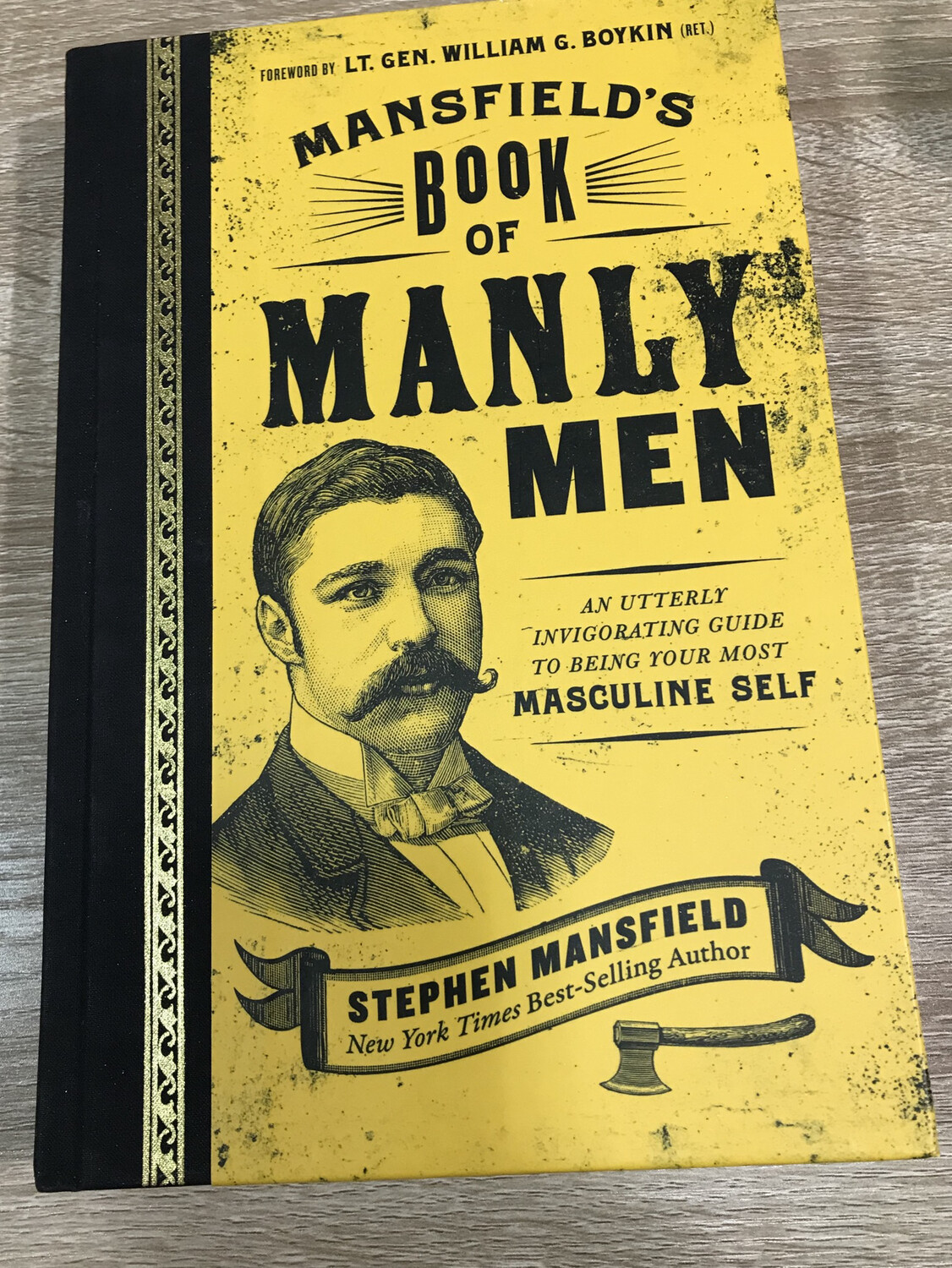 MANSFIELD,  Mansfields Book Of Manly Men