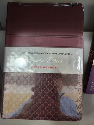 RVA Bible 2015 Large Print, Cherry