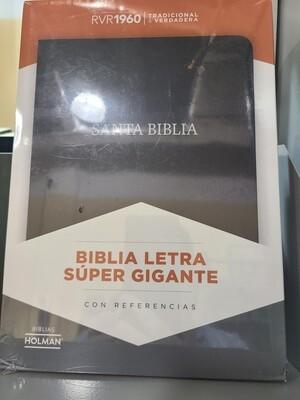 RVR 1960 Biblia Letra Super Gigante