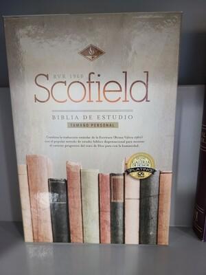 RVR 1960 Scofield Biblia de Estudio