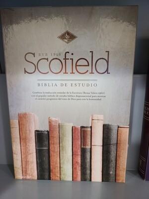 RVR 1960 Scofield Biblia de Estudio Ind.