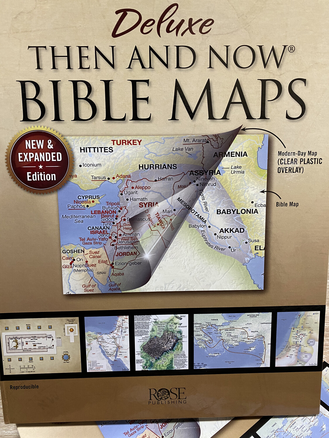 Then and Now Bible Maps Rose Publishing
