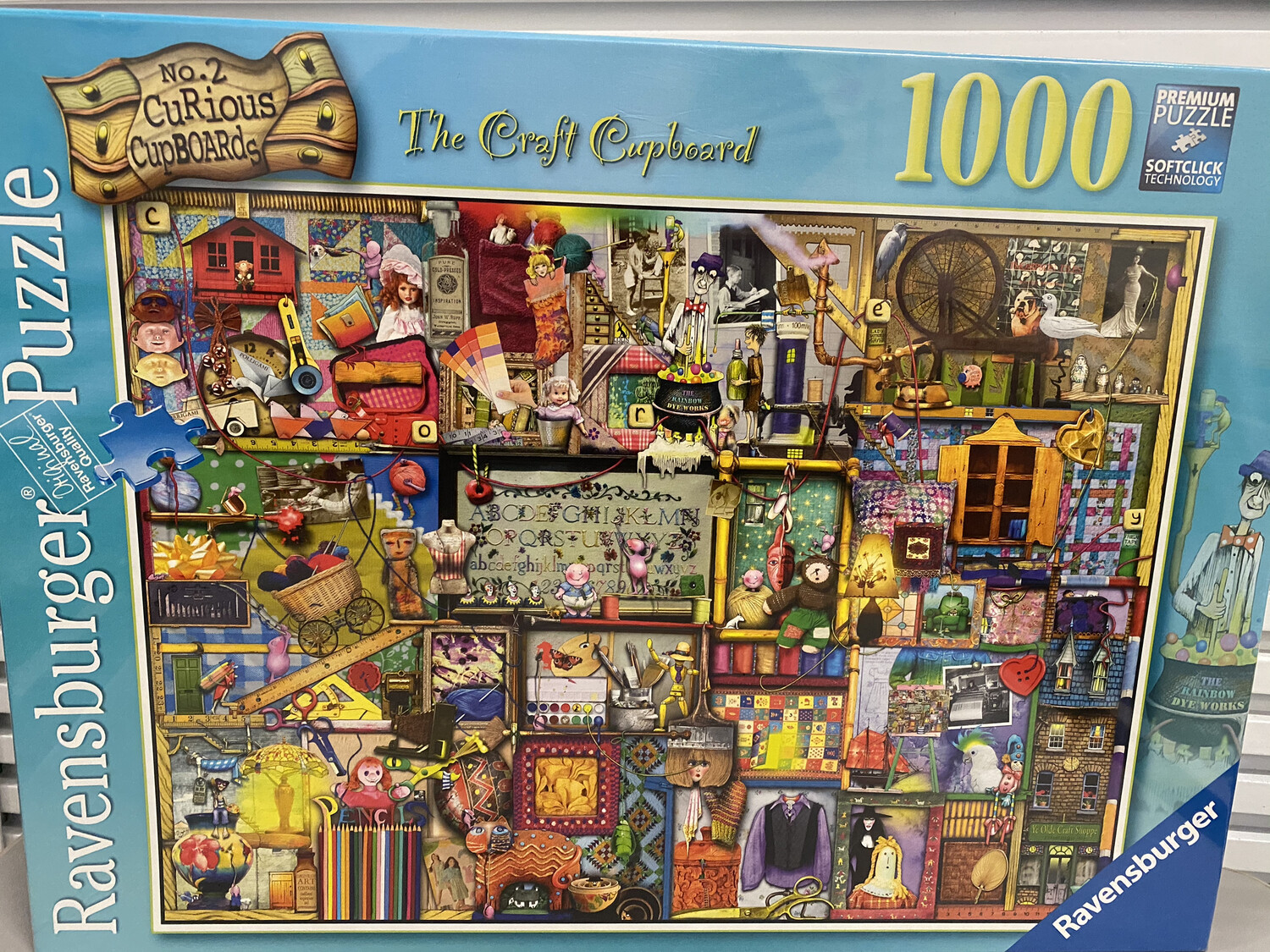 The Craft Cupboard Puzzle