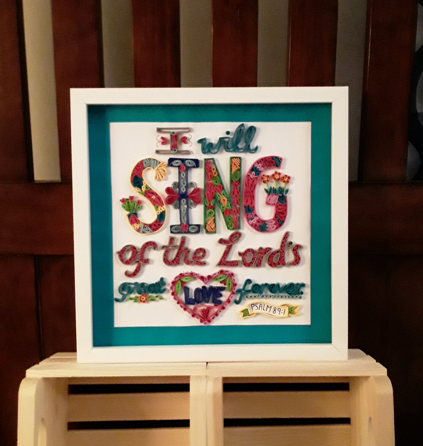 I Will Sing Framed Art