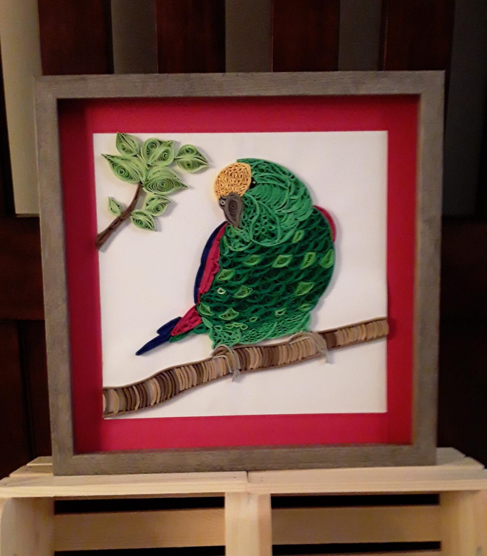 Large Bird Framed Art