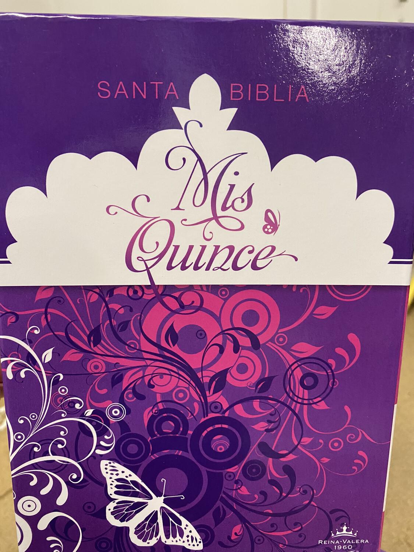 RVR1960 - Santa Biblia - Mis Quince