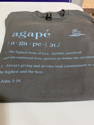 Agape Definition Shirt - Small