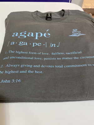 Agape Definition Shirt - Large