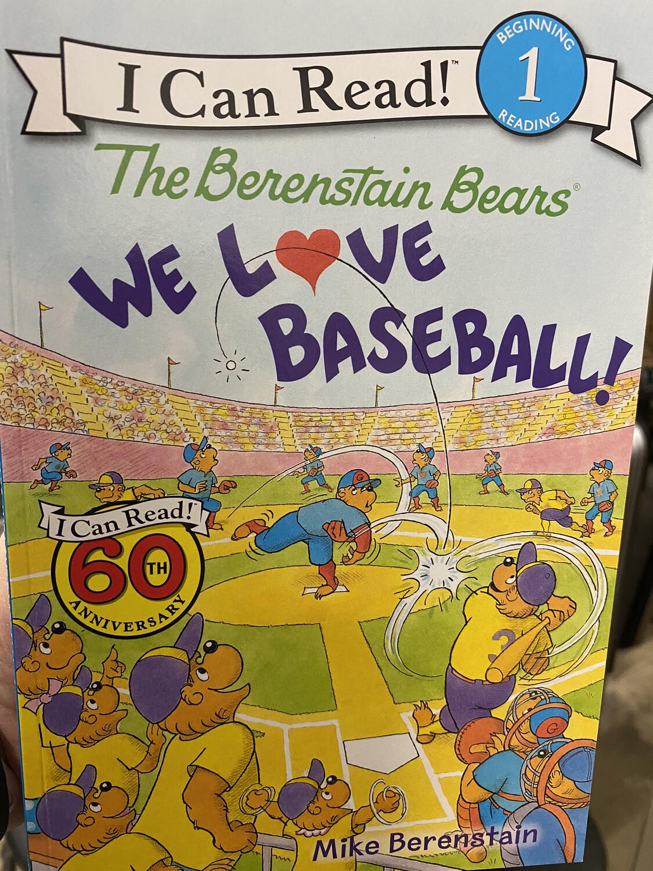 BERENSTAIN, The Berenstain Bears, We Love Baseball