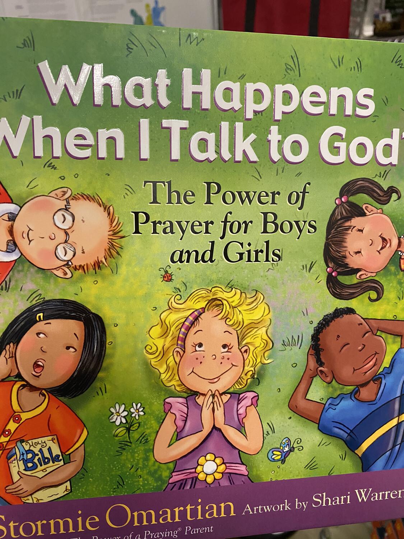 OMARITAN, What Happens When I Talk To God?