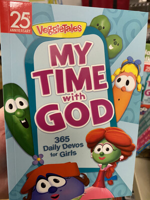 VEGGIETALES, My Time With God, 365 Daily Devotionals For Girls