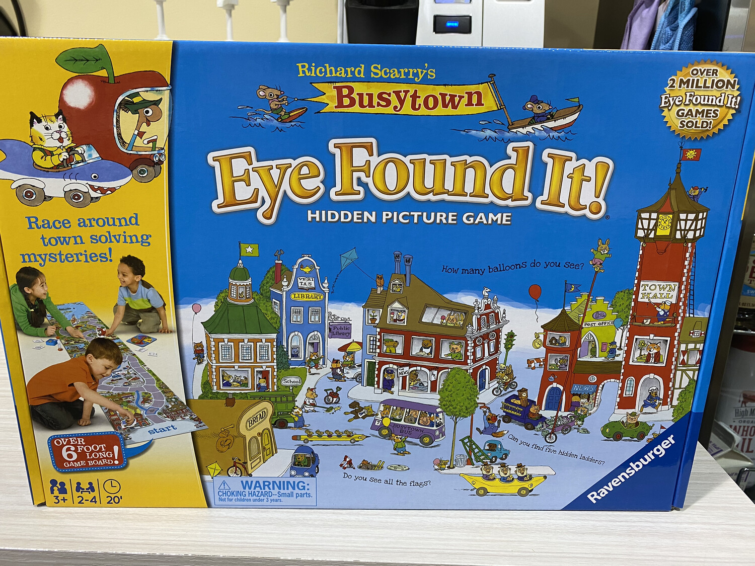 Ravensburger Hidden Picture Game, Richard Scarry's Eye Found It