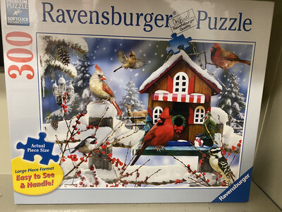 Ravensburger Puzzle - 300, The Lodge (Cardinal)