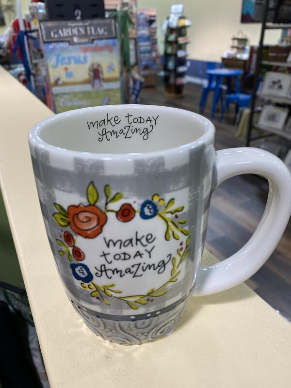 Make Today Amazing Grey Mug