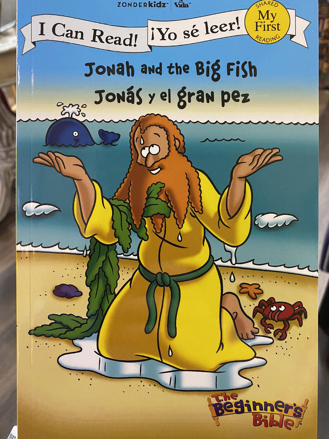 Jonah And The Big Fish Biligual I Can Read