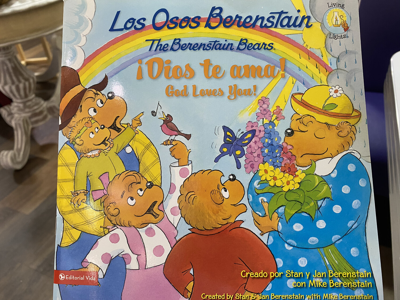 BERENSTAIN, The Berenstain Bears, God Loves You, Bilingual