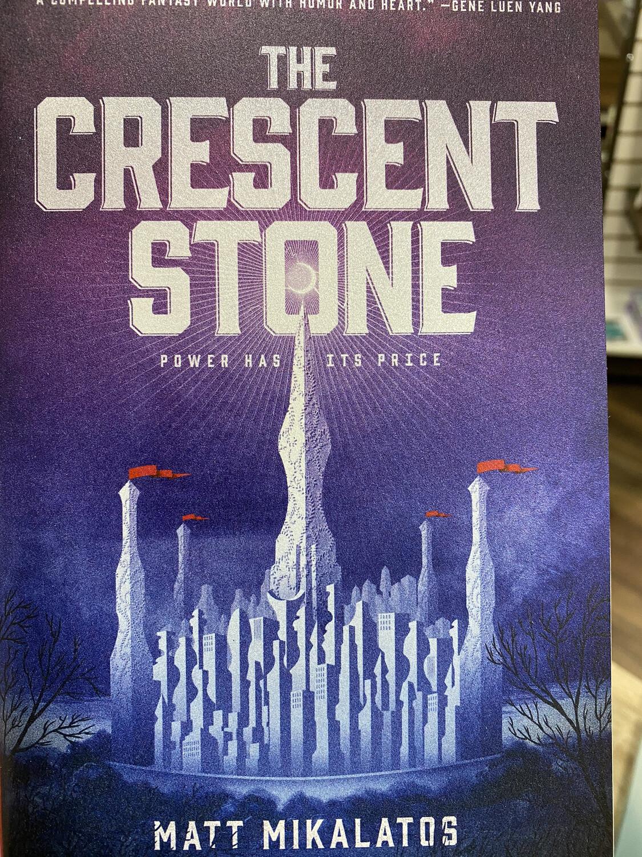 MIKALATOS, The Crescent Stone, Book 1