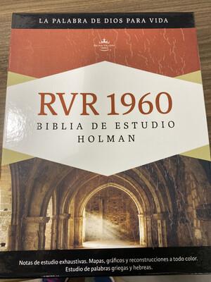 RVR1960 - Holman Biblia de Estudio