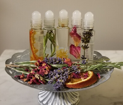 Botanical Blends Roll On, Rosemary & Peppermint