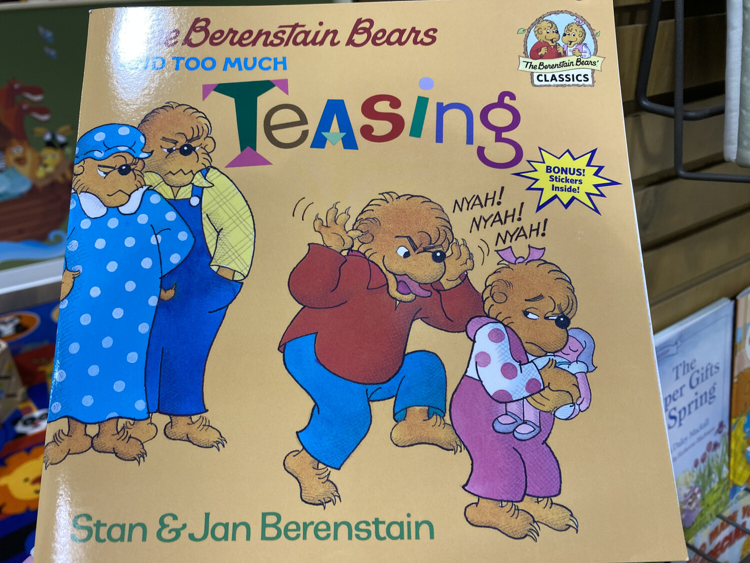 BERENSTAIN, The Berenstain Bears And Too Much Teasing