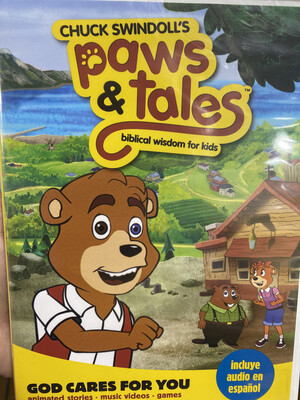 Paws & Tales, God Cares For You DVD