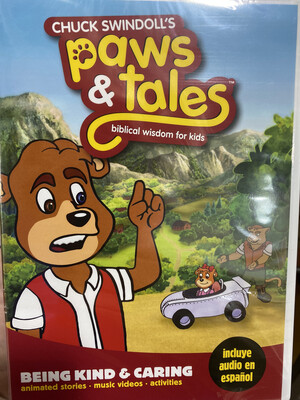 Paws & Tales, Being Kind & Caring DVD