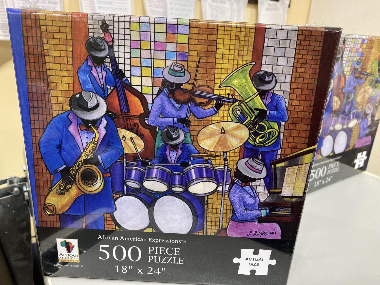 Jazz Ensemble Puzzle, 500 Piece Puzzle