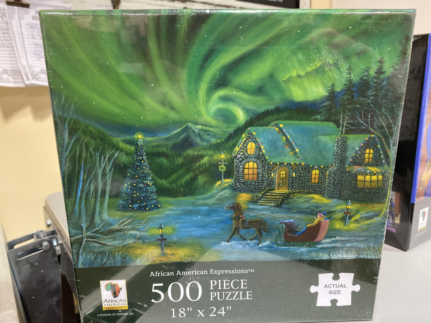 Northern Lights, 500 Piece Puzzle
