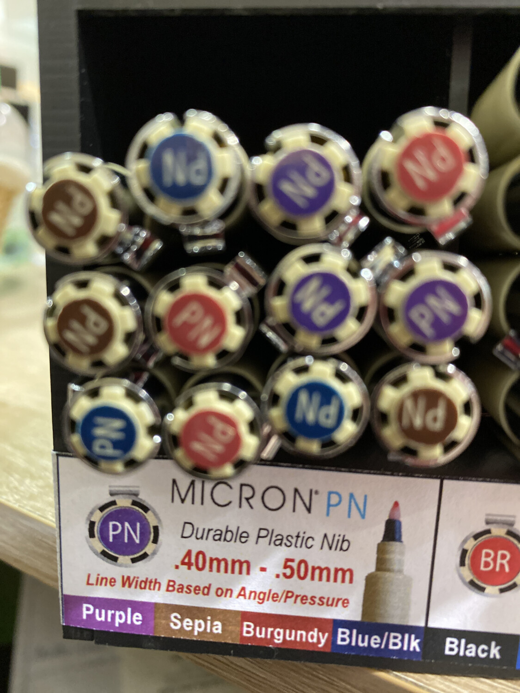 Micron Purple Plastic Nib