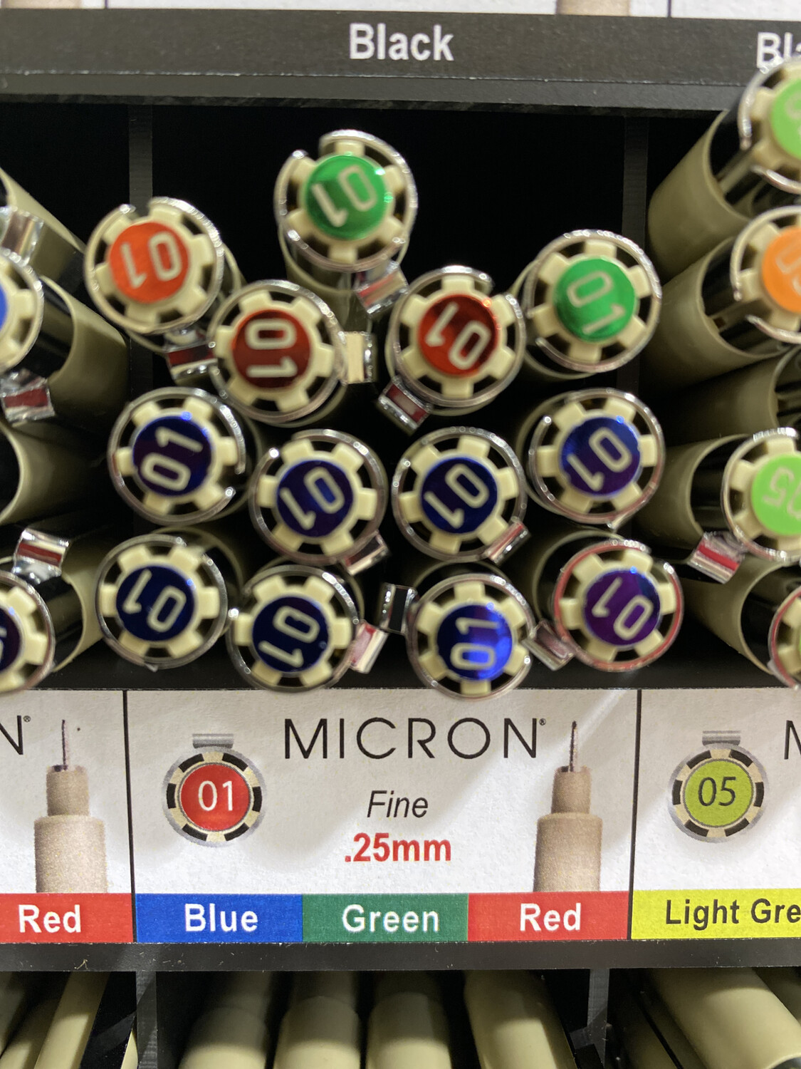 Micron Red, 01