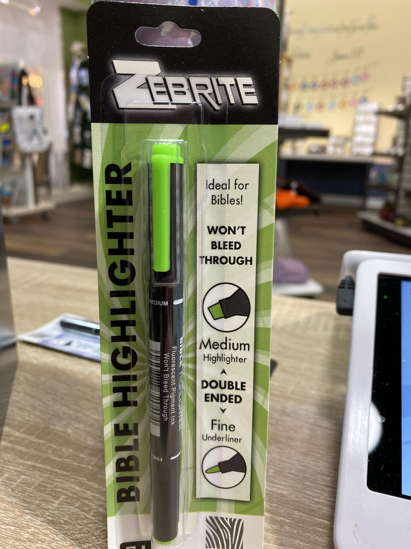 Zebrite, Highlighter, Green