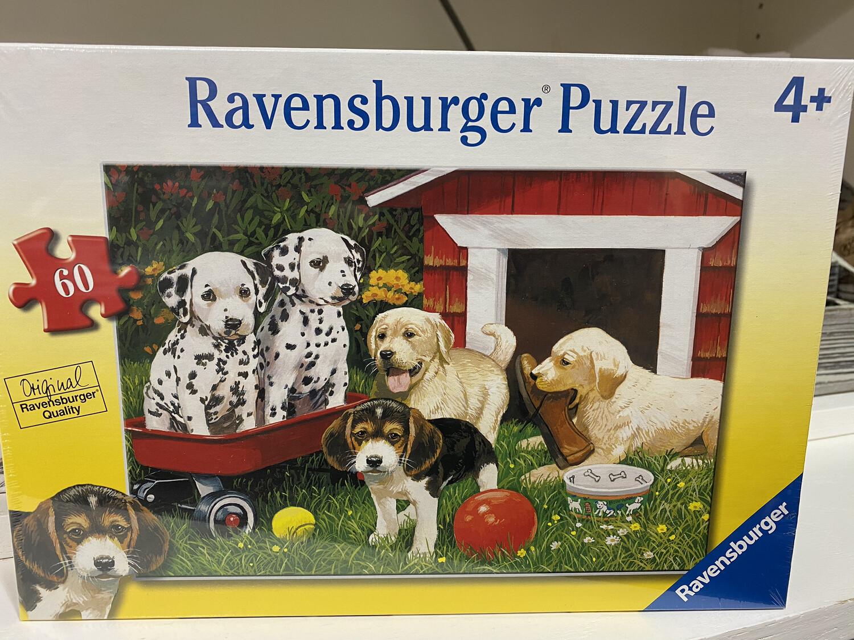 Puppy Party Ravensburger Puzzle, 4+, 60 Piece