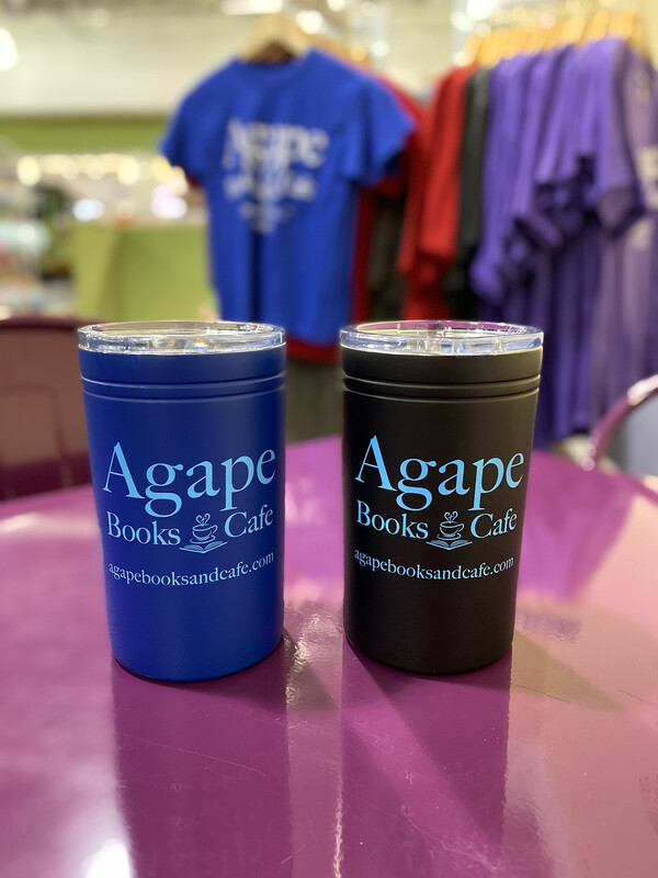Agape Travel Mug, Blue