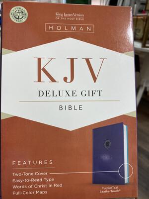 KJV, Deluxe Gift, Purple/Teal