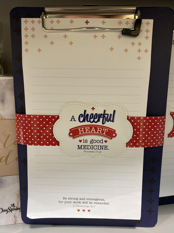 Cheerful Heart Clipboard