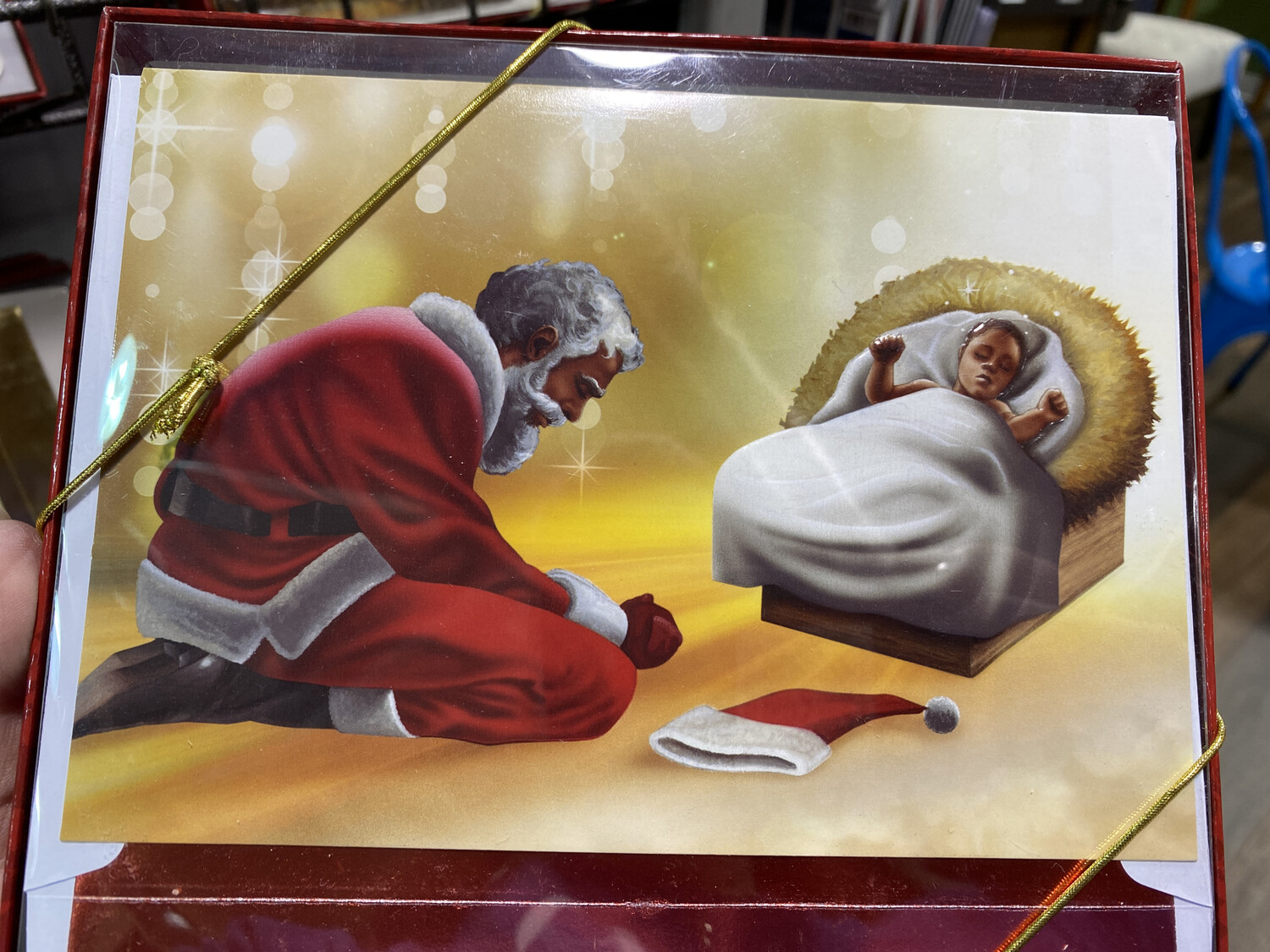Holiday Collection, Santa Bowing (15)