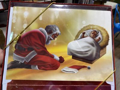 Holiday Collection, Santa Bowing (15)