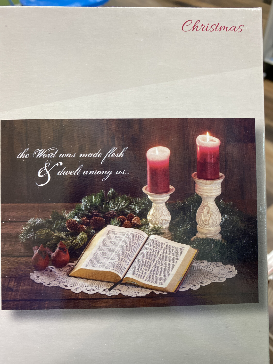His Word Boxed Cards (12)
