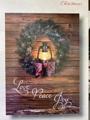 Light Of Christmas Boxed Cards (12)