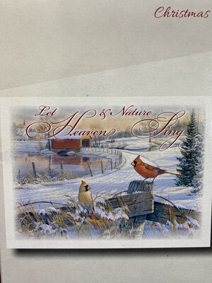 Christmas Cardinals Boxed Cards (12)