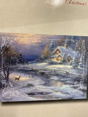 Winter Cottage Boxed Cards (12)