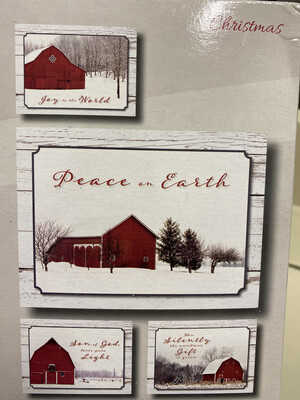 Country Barns Boxed Cards
