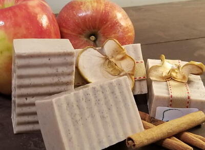 Apple Cinn. Goats Milk Soap