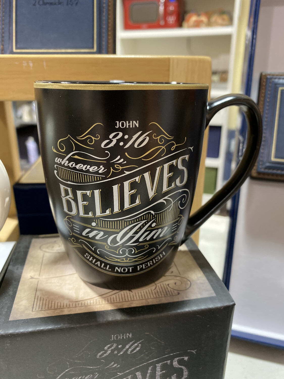 Mug, Whoever Believes