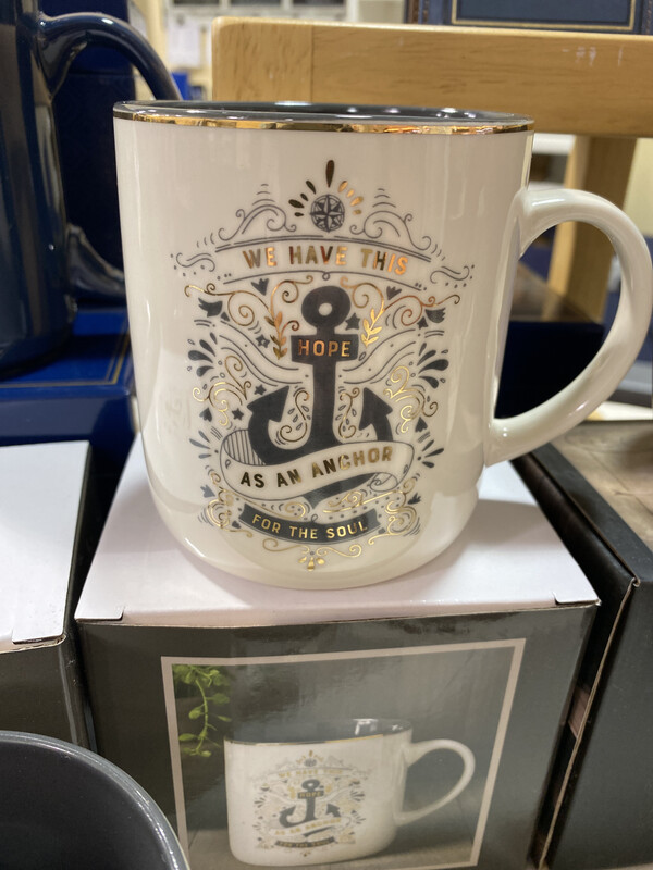 Mug, Hope As An Anchor